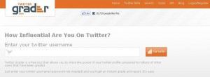 Twitter grader 300x110 15 Cool Twitter Tools You Can Try