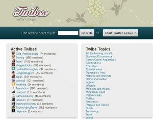twibes1 300x234 15 Cool Twitter Tools You Can Try