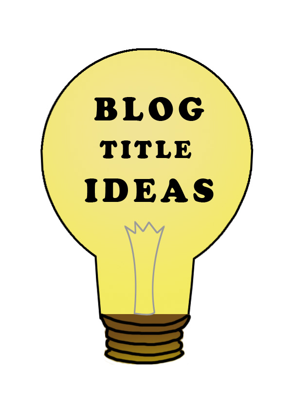 buld idea 20 Ideas To Write Catchy Blog Titles